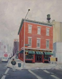 Landmark Tavern, Painting, Oil on Canvas