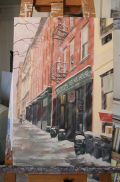 McSorley's Old Ale House, Painting, Oil on Canvas