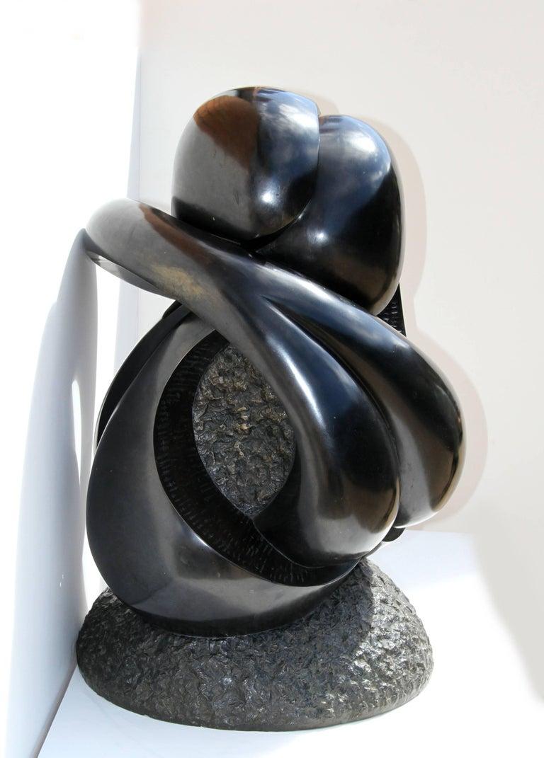 Large Abstract Bronze Sculpture by Ellen Brenner-Sorensen For Sale 4