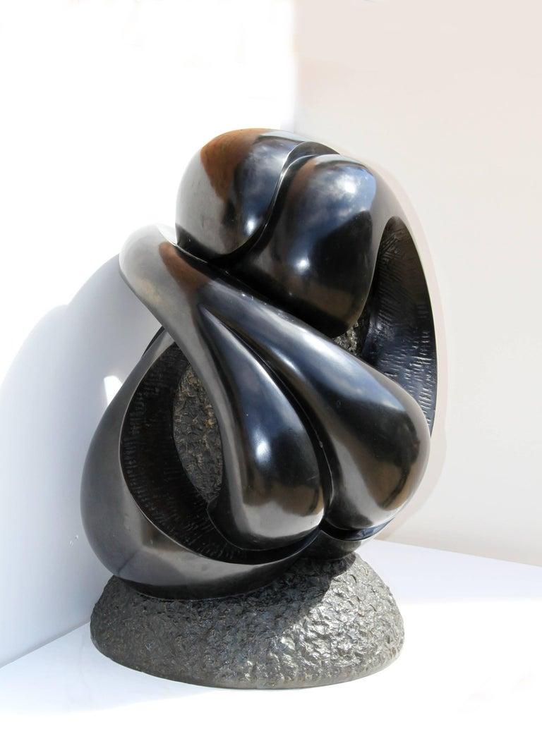 Large Abstract Bronze Sculpture by Ellen Brenner-Sorensen For Sale 5