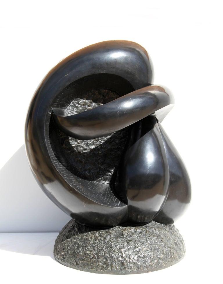 Large Abstract Bronze Sculpture by Ellen Brenner-Sorensen For Sale 6
