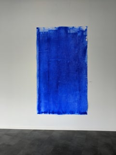 Ellen Hackl Fagan, Seeking the Sound of Cobalt Blue_Air Capture, 2020 Minimalism