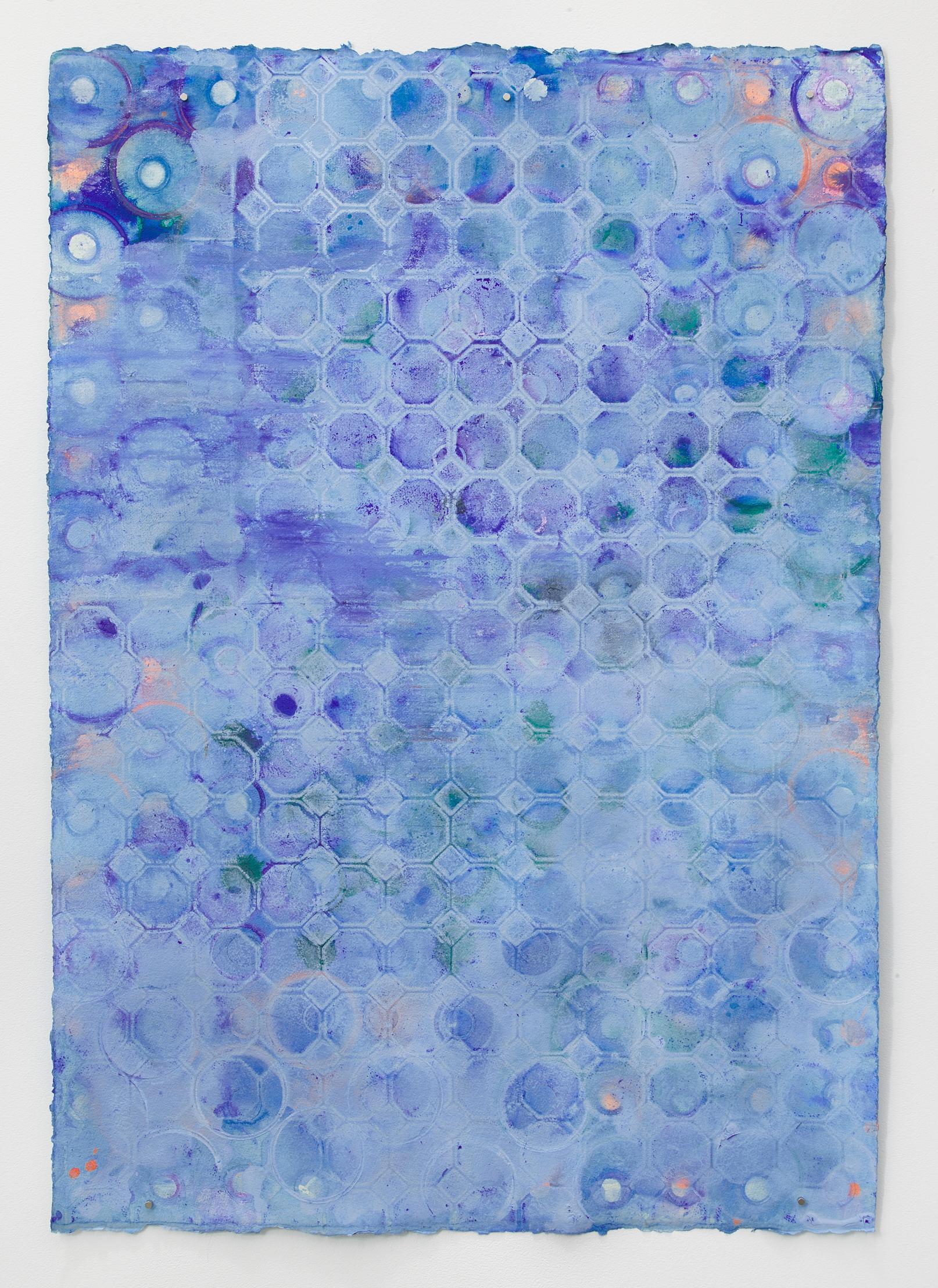 Ellen Hackl Fagan, Seeking the Sound of Cobalt Blue_Blue Glaze, 2018, Minimalist