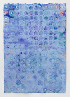 Ellen Hackl Fagan, Seeking the Sound of Cobalt Blue_Blue Glaze, 2018, Minimalist