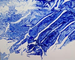 Ellen Hackl Fagan, Seeking the Sound of Cobalt Blue_Iceland_2020_Color Field