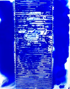 Ellen Hackl Fagan, Seeking the Sound of Cobalt Blue_Ribbed_2020_Color