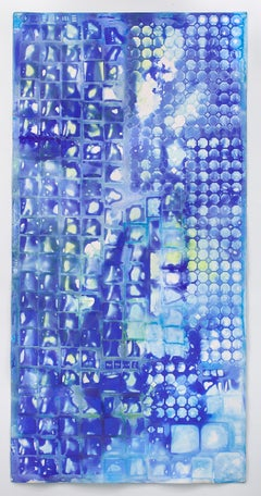 Ellen Hackl Fagan, Seeking the Sound of Cobalt Blue_Tile Capture II, 2016