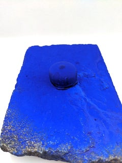 Ellen Hackl Fagan_Seeking the Sound of Cobalt Blue_Paver 2_2020_found object