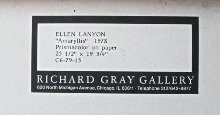 Hand-Crafted Ellen Lanyon Watercolor