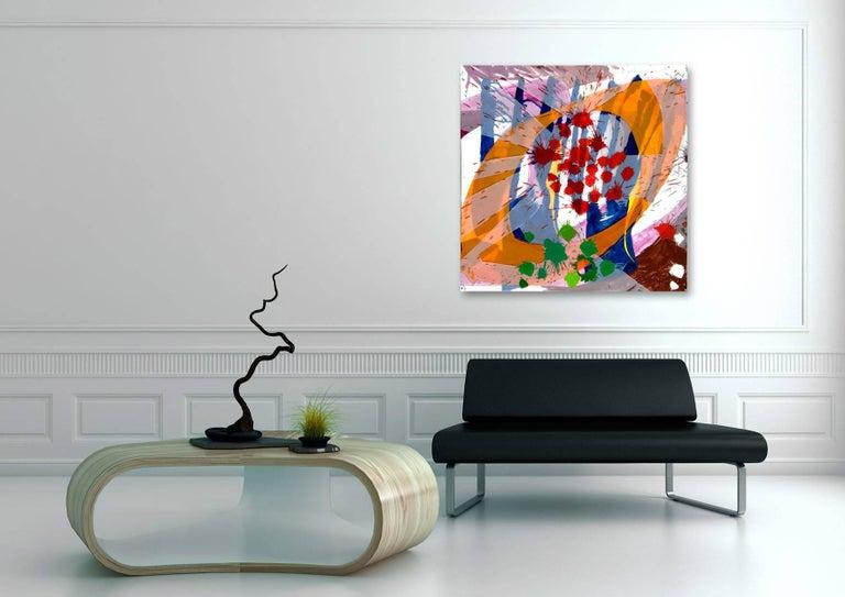 Jazz: Edward Simon's Venezuelan Suite 16 - Painting by Ellen Priest