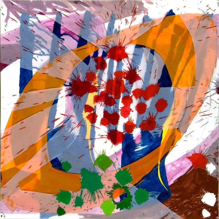 Ellen Priest Abstract Painting - Jazz: Edward Simon's Venezuelan Suite 16