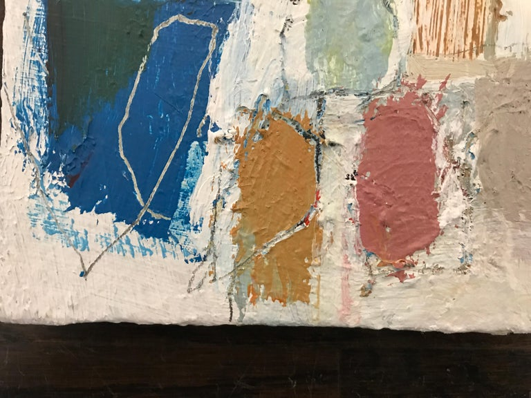 Gathering by Ellen Rolli, 2018, Petite Gift-able Abstract Painting For Sale 3