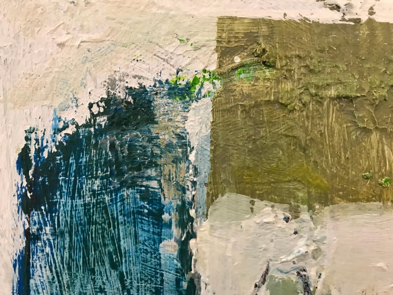Gathering by Ellen Rolli, 2018, Petite Gift-able Abstract Painting For Sale 4