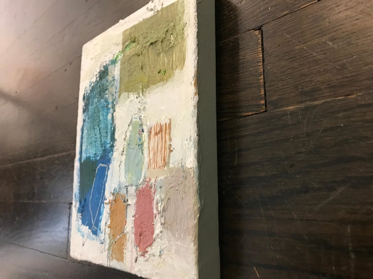 Gathering by Ellen Rolli, 2018, Petite Gift-able Abstract Painting For Sale 5