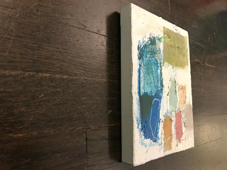 Gathering by Ellen Rolli, 2018, Petite Gift-able Abstract Painting For Sale 6