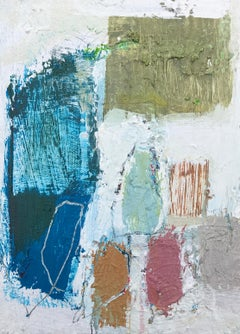 Gathering by Ellen Rolli, 2018, Petite Gift-able Abstract Painting