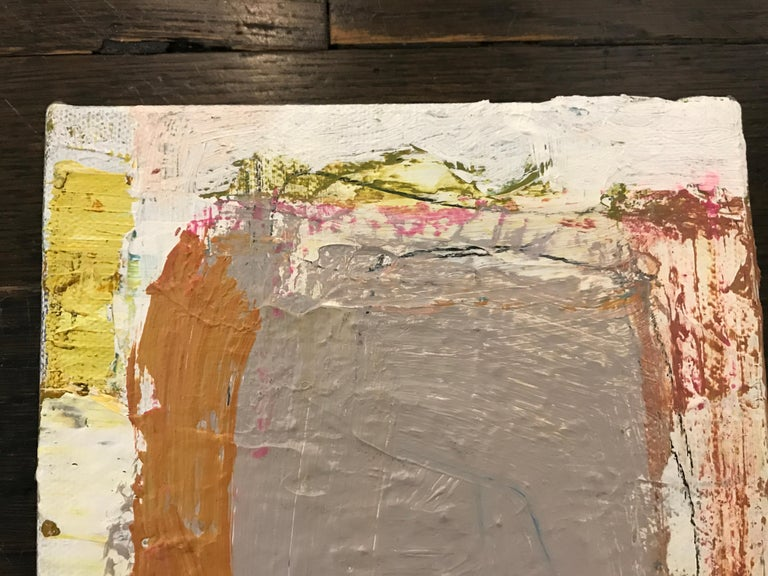 Harmonious by Ellen Rolli, 2018, Petite Gift-able Abstract Painting For Sale 5