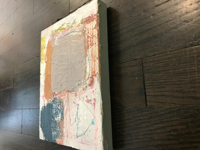 Harmonious by Ellen Rolli, 2018, Petite Gift-able Abstract Painting For Sale 6