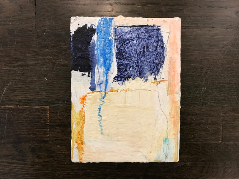 Soothe by Ellen Rolli, 2018, Petite Gift-able Abstract Painting For Sale 2