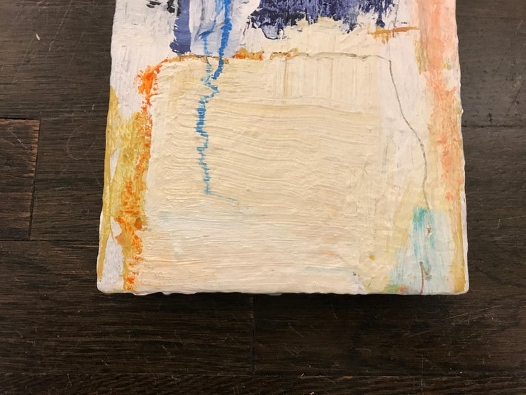 Soothe by Ellen Rolli, 2018, Petite Gift-able Abstract Painting For Sale 3