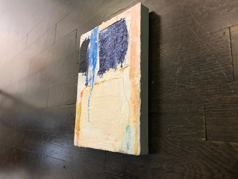 Soothe by Ellen Rolli, 2018, Petite Gift-able Abstract Painting For Sale 6