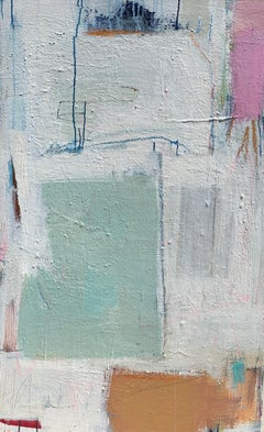 Threshold by Ellen Rolli, Large Abstract Acrylic and Mixed Media on Canvas