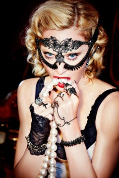 Madonna - portrait of the star and icon of music