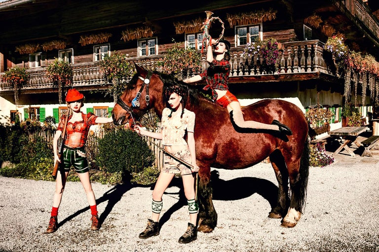 On the Horse - from the Heimat series