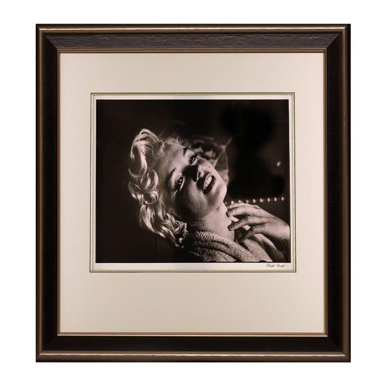 Marilyn Monroe by Elliott Erwitt. 'Breathtaking', A portrait in Black and White For Sale 1