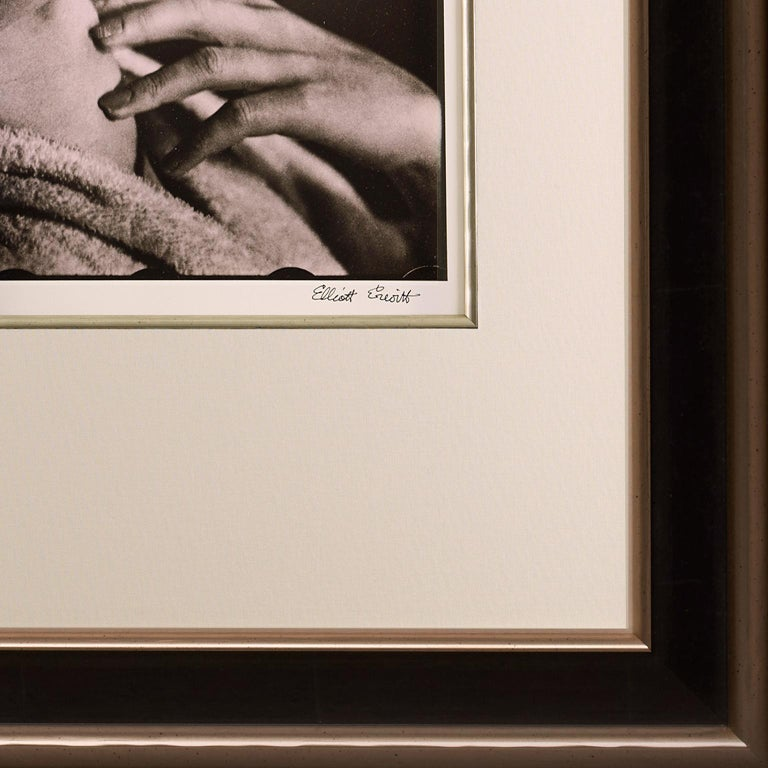 Marilyn Monroe by Elliott Erwitt. 'Breathtaking', A portrait in Black and White For Sale 2