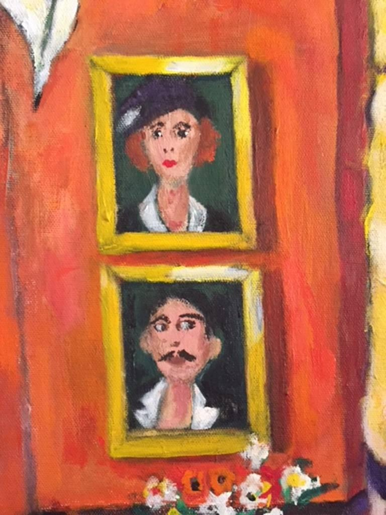 Mr. And Mrs. - Painting by Elliot Gordon