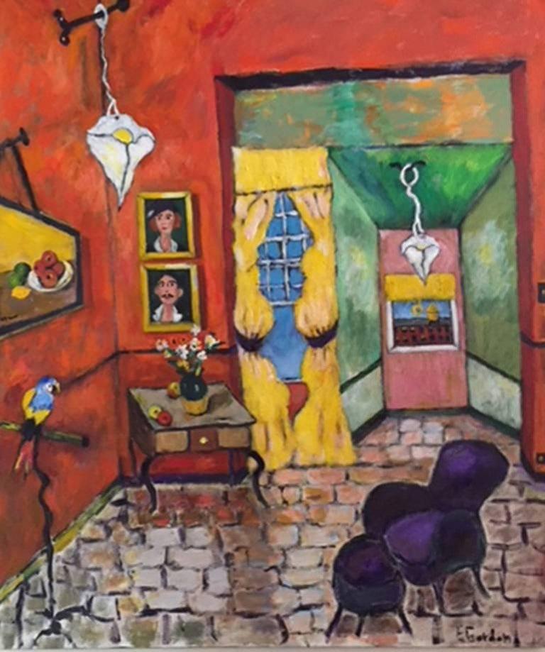 Elliot Gordon Still-Life Painting - Mr. And Mrs.