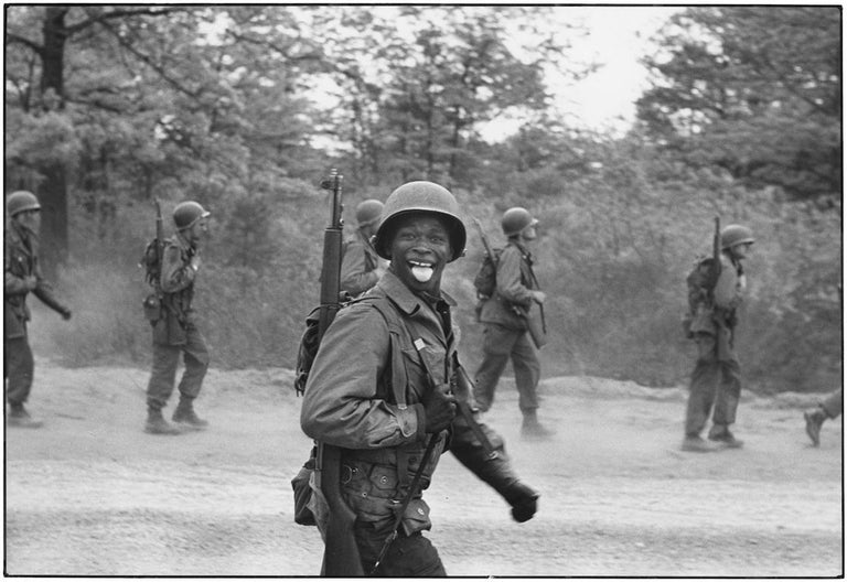 Elliott Erwitt Portrait Photograph - Fort Dix, New Jersey