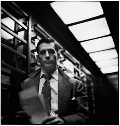 Jack Kerouac, New York City, 1953 - Elliott Erwitt (Black and White Photography)