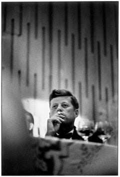 John F. Kennedy, Los Angeles, California, 1960 - Portrait Photography