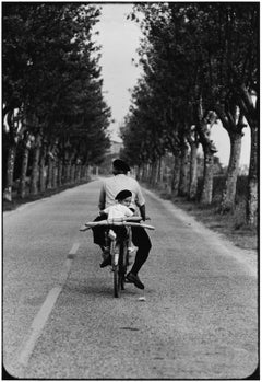 Provence, France (Boy, bicycle & baguette)