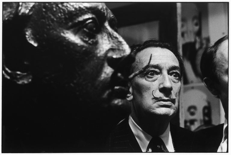 Salvador Dalí, 1963 - Elliott Erwitt (Black and White Photography) Signed, inscribed with title and dated on accompanying artist's label Silver gelatin print, printed later  Available in four sizes: 11 x 14 inches 16 x 20 inches 20 x 24 inches 30 x