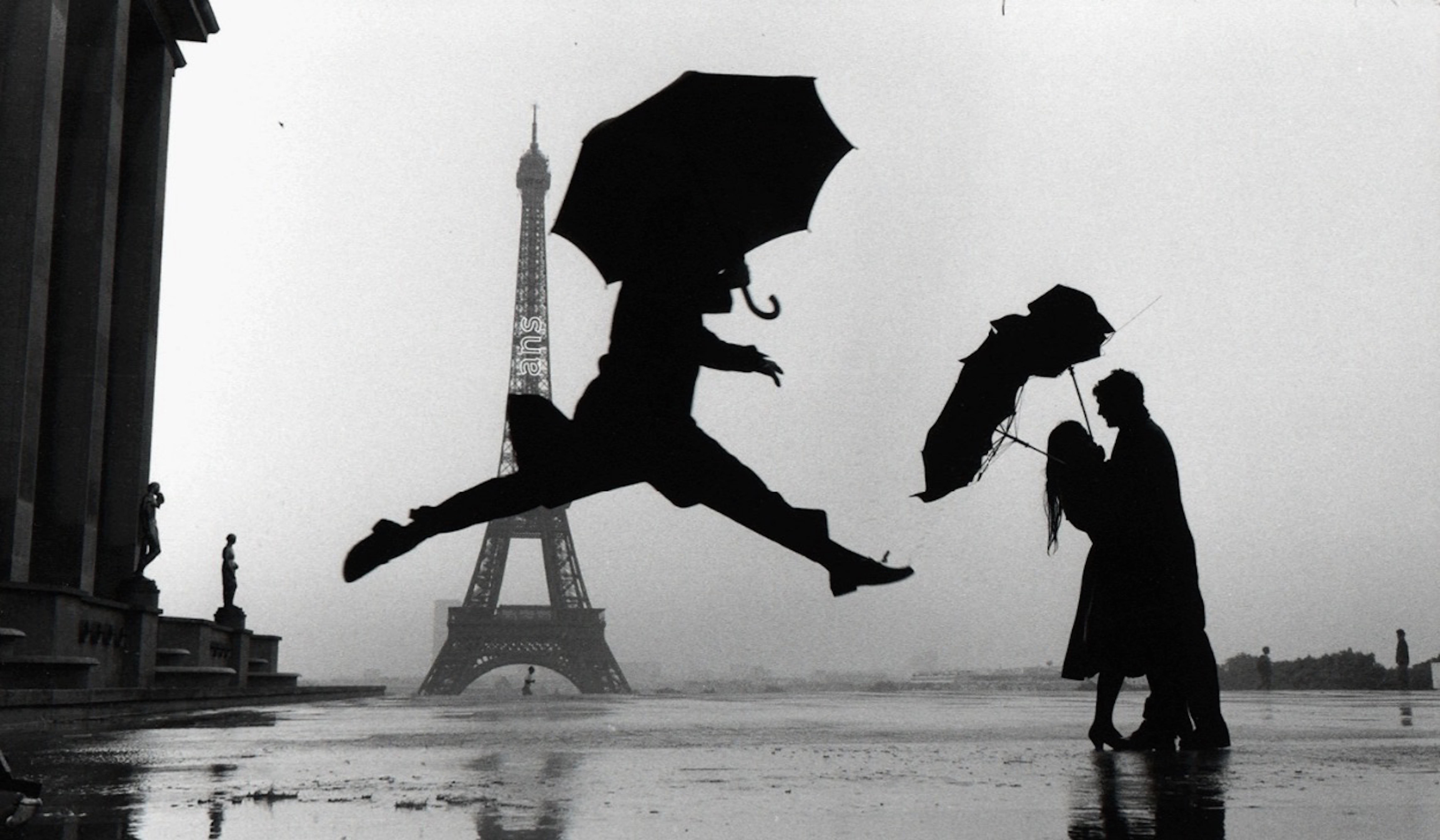 Umbrella Jump, Paris, France