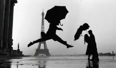 Umbrella Jump, Paris, France