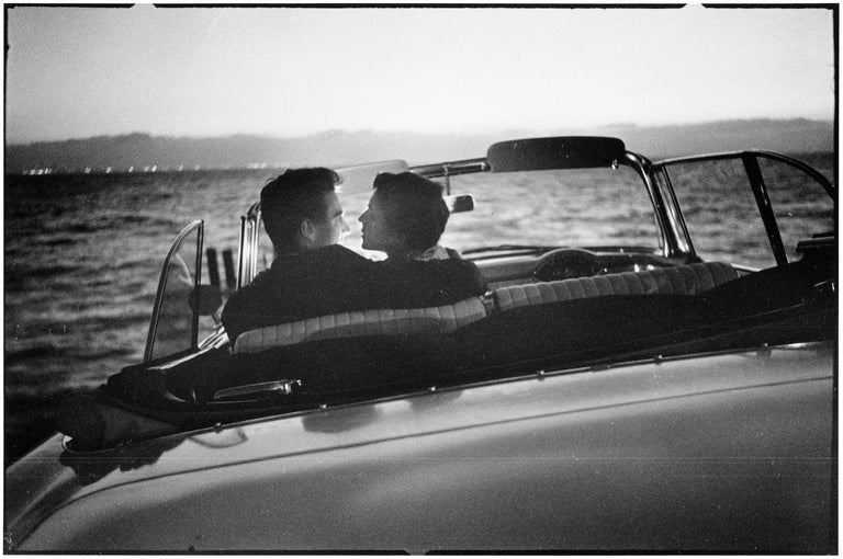 USA, Berkeley, California, 1956 - Elliott Erwitt (Black and White Photography) Signed, inscribed with title and dated on accompanying artist's label Silver gelatin print, printed later  Available in four sizes: 11 x 14 inches 16 x 20 inches 20 x 24