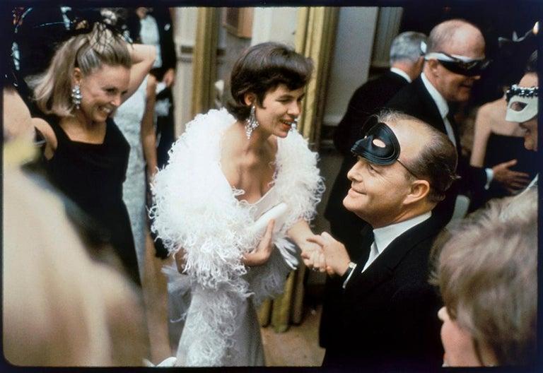 "Elliott Erwitt Color Photograph - USA. New York City. 1966. Truman Capote at his ""Black & White Ball"", Plaza Hotel"