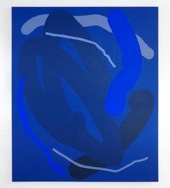 Wiggle Mirror Blue