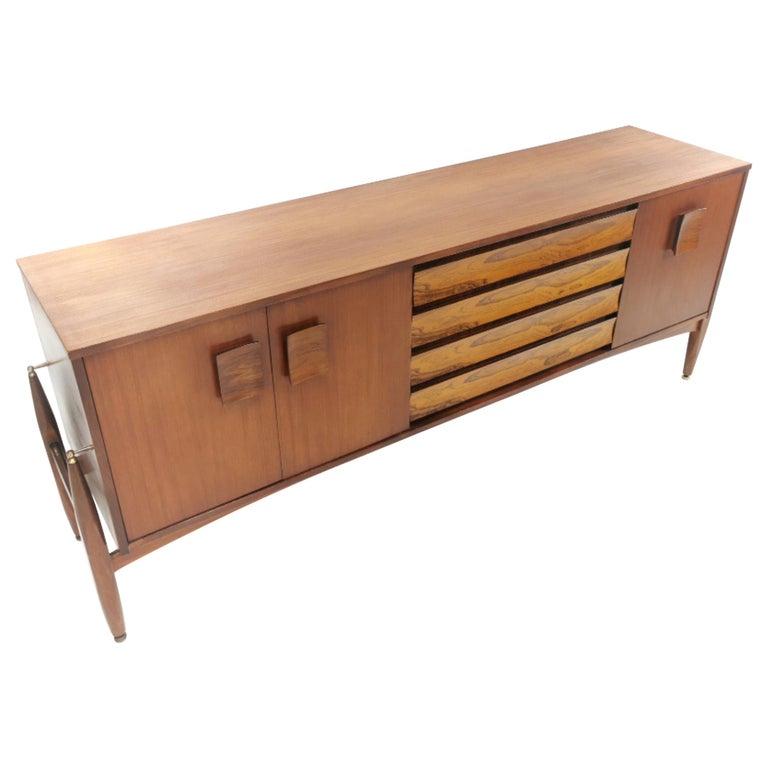 Elliotts of Newbury Rosewood and Teak Midcentury Sideboard 1960s Vintage For Sale