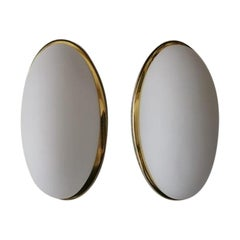 Ellipse Design Pair of Sconces Model 3683 by Limburg, 1980s, Germany