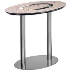 Elliptical Side Table
