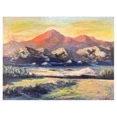 Ellis, Impressionist Landscape Painting of the American West, 1950s