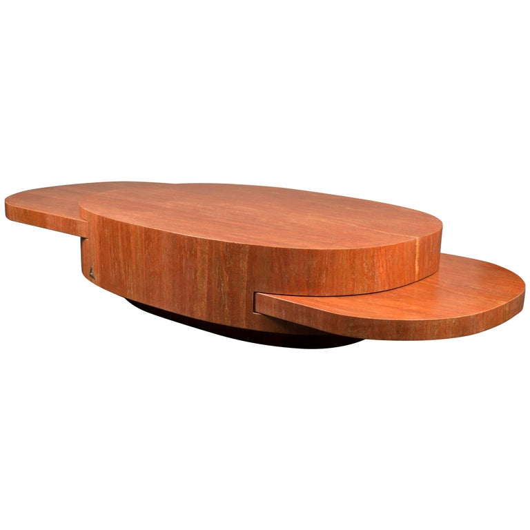 Gabriella Crespi Ellisse table, originally designed 1976, new