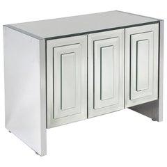 Ello Cabinet 1970s Mirrored Cabinet