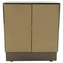 Ello Midcentury Smoke Mirrored Nightstand
