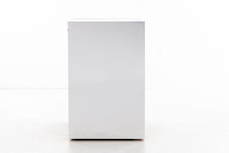 Glass Ello Nightstands or Cases For Sale